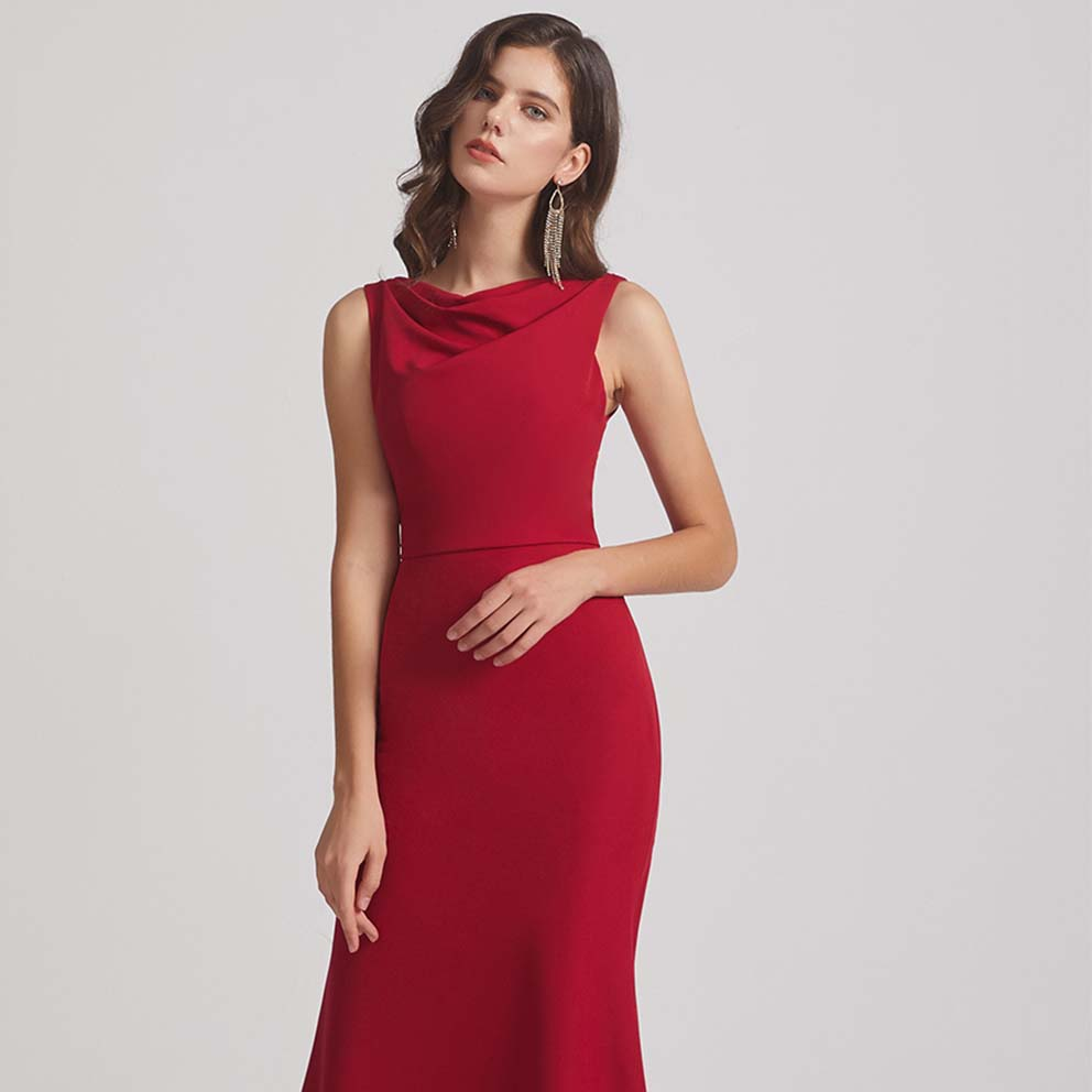 Top 5 Red Bridesmaid Dresses from Alfabridal