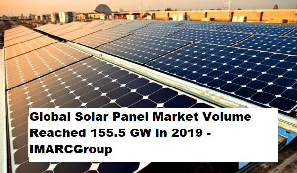 Solar Panel Market 2020: Industry Analysis, Price Trends, Size, Share, Growth and Forecast till 2025 - IMARC Group