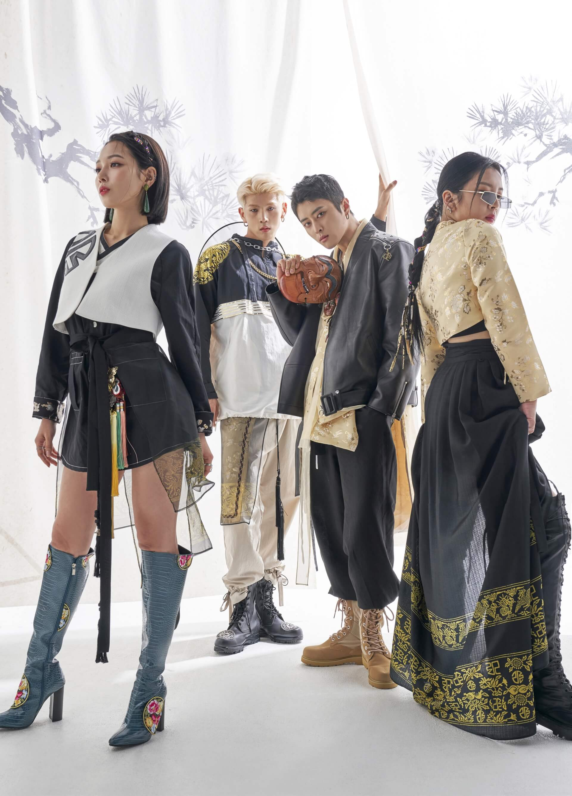 K-Pop Group KARD Receives Phenomenal Reaction to Their Hanbok Photoshoot