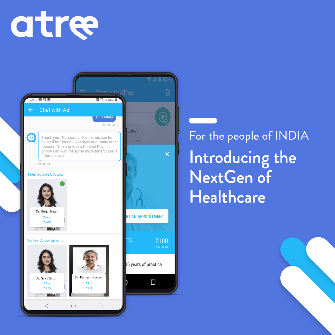 aTreeHealth introduces an AI-driven healthcare app for Doctor Consultation