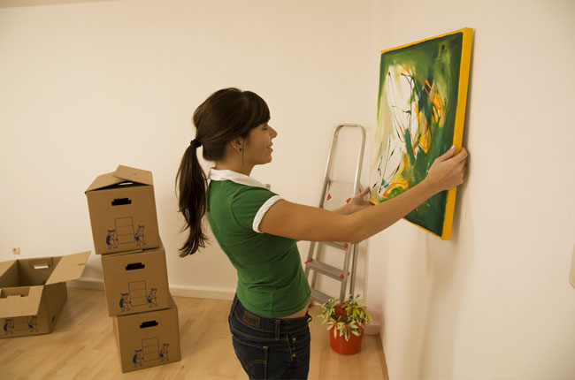 Moving an expensive artwork safely during a house move helps to eliminate the stress of the relocation
