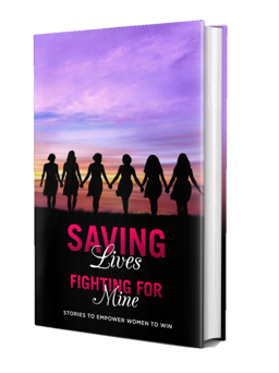 "Visionary Author, Ayanna Gallow, with 11 successful women use their voices to motivate women in the anthology ""Saving Lives While Fighting for Mine: Stories to Empower Women to Win"""