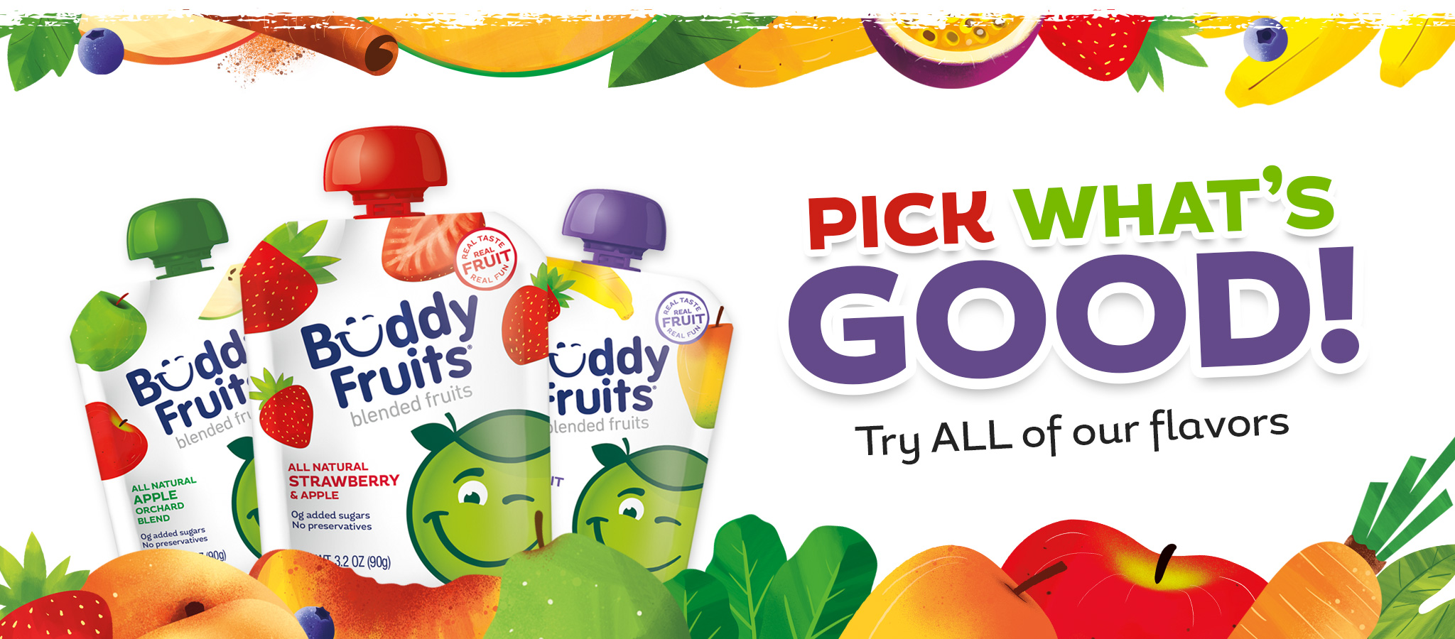 Buddy Fruits is now offered Nationwide Through Mr. Checkout's Direct Store Delivery Distributors.