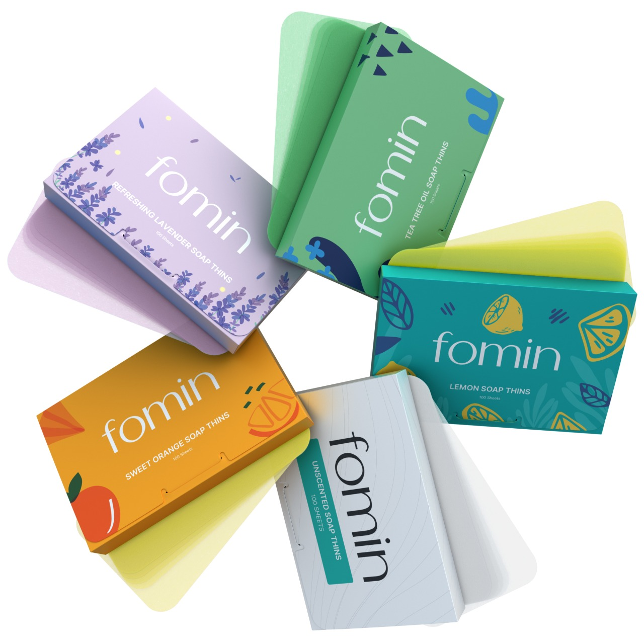 Fomin Soap is now offered Nationwide Through Mr. Checkout's Direct Store Delivery Distributors.