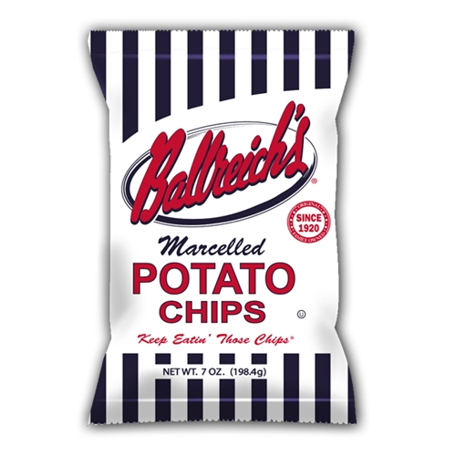 Ballreich Snack Food Company is now offered Nationwide Through Mr. Checkout's Direct Store Delivery Distributors.