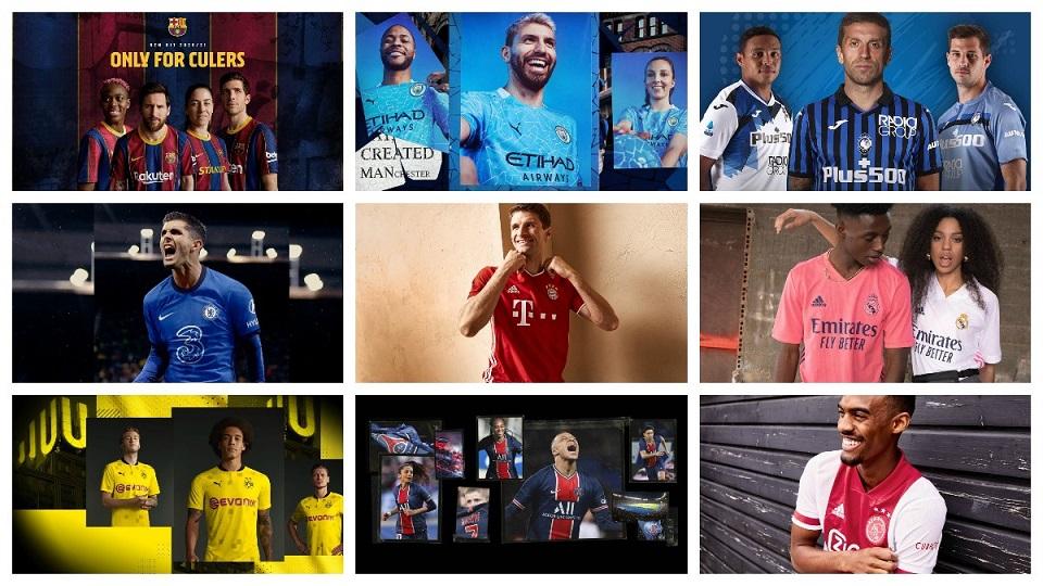 Camisetas Champions League 2020-21 Baratas - Camisetasfutboleses.com