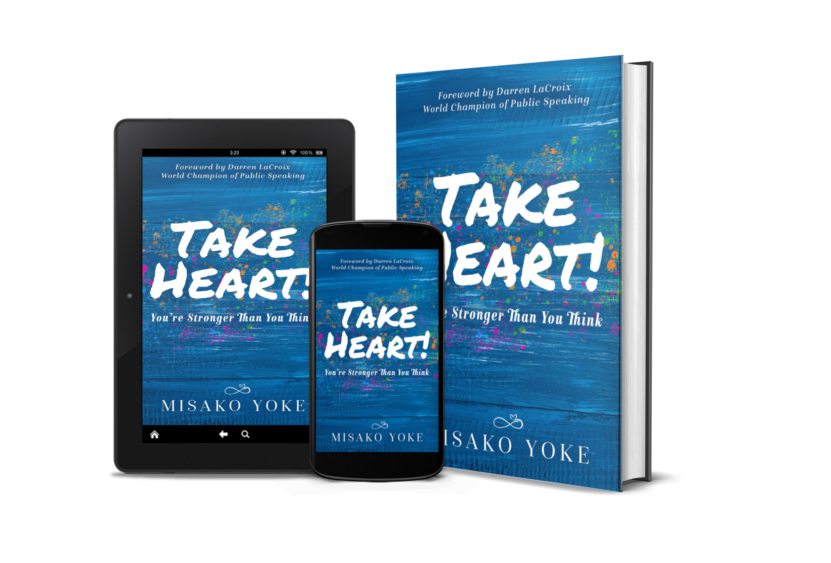 "Resilience Life Coach Misako Yoke Releases Debut Book, ""Take Heart! You're Stronger Than You Think"""