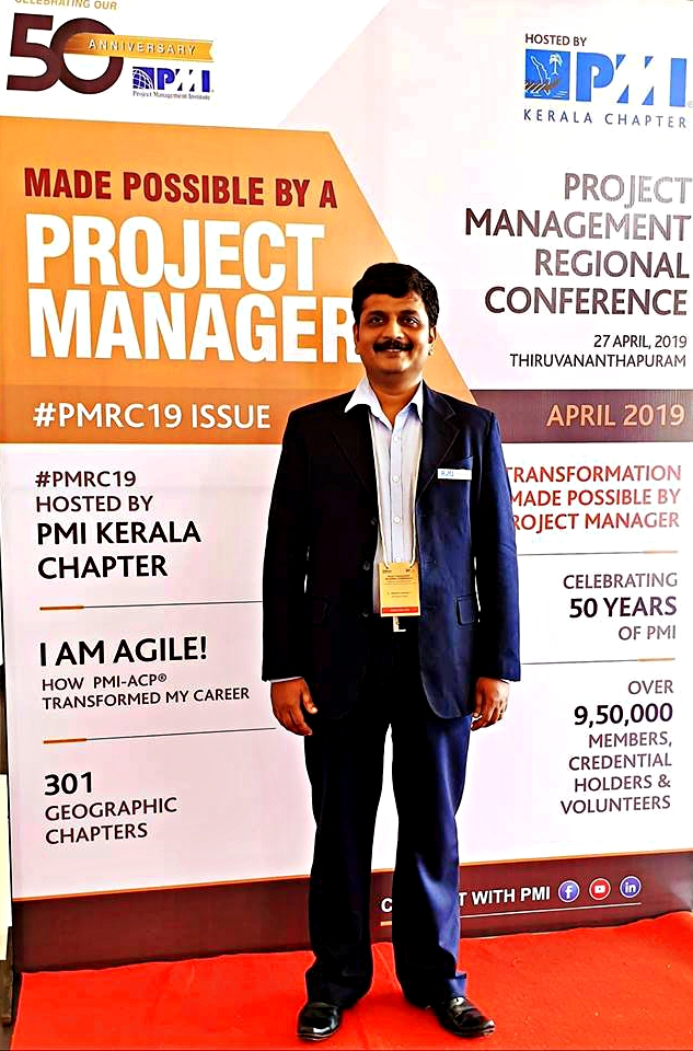 Travelspoc CEO Dr. Krishna Kumar T I Wins PMI Global Excellence Award for Project Management