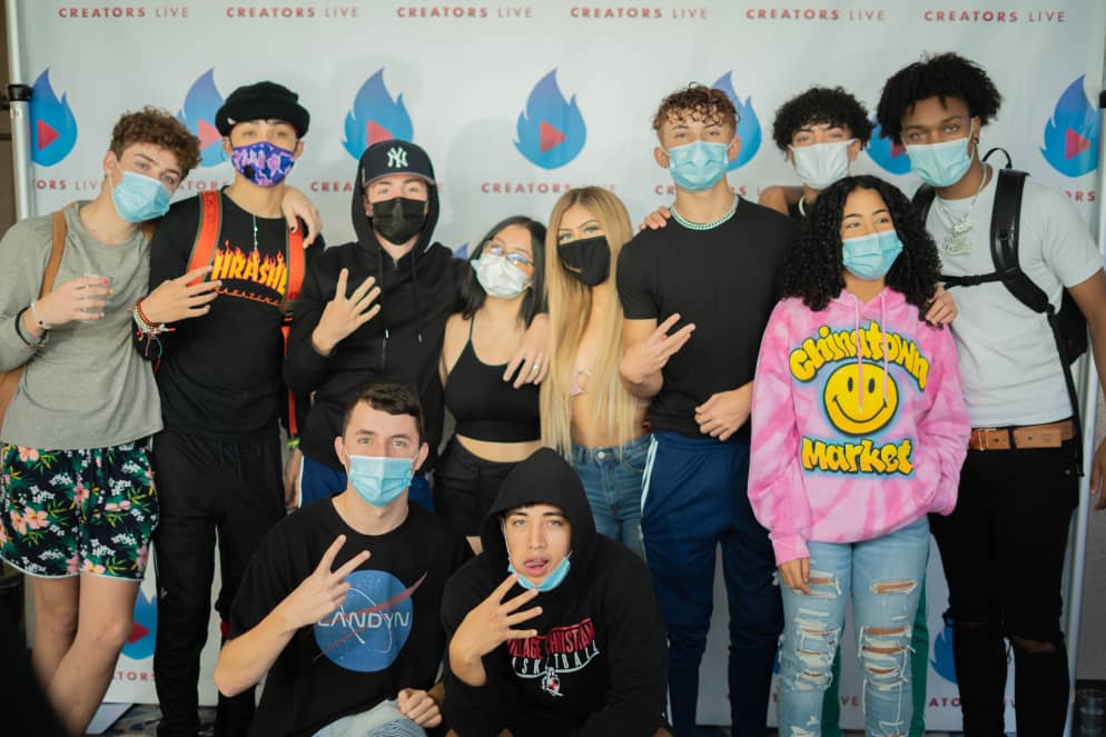 Creators Live Had a Successful Instagram/TikTok Pop-up Tour Across Seven Cities