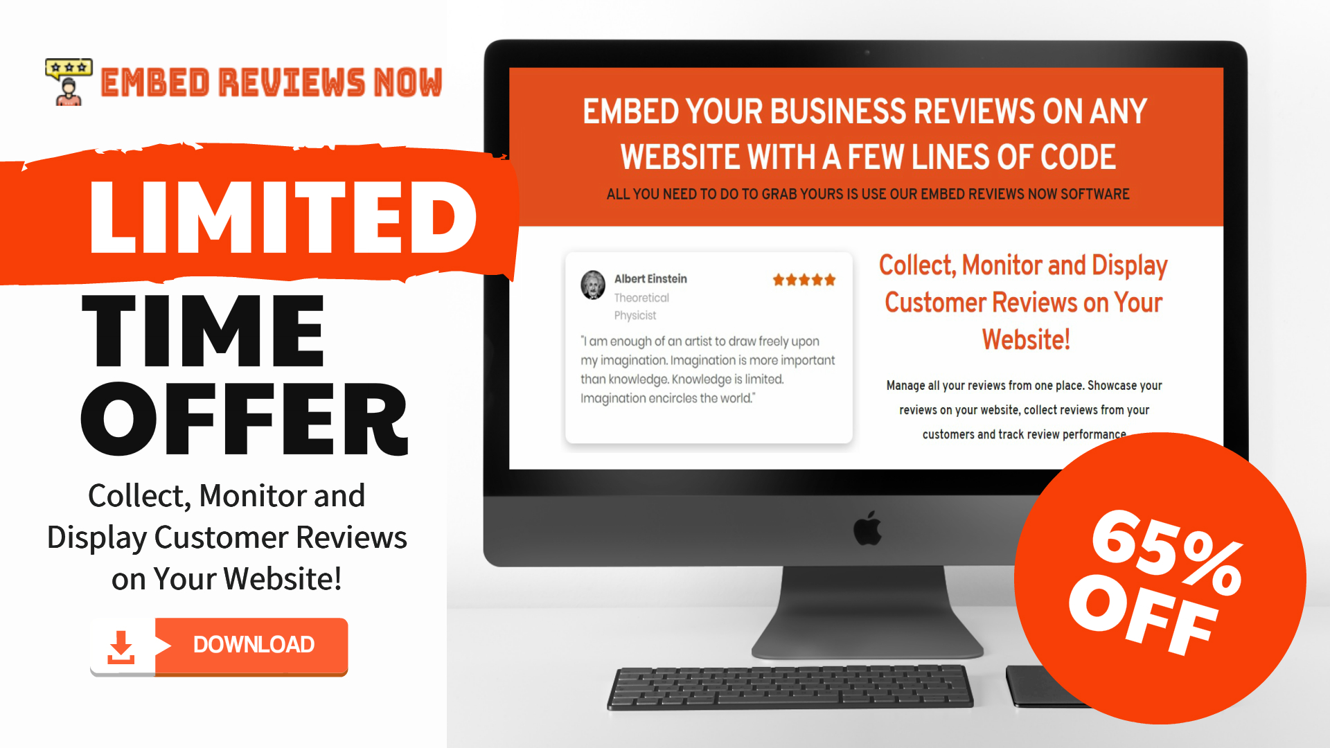 EMBED REVIEWS NOW Offers A Complete Platform To Embed Business Reviews On The Website