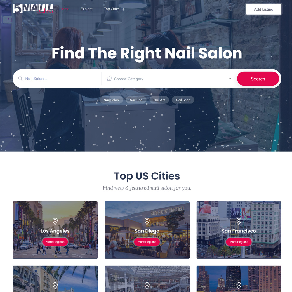 5NailSalon Launched A Digital Service for The Female Dominant Industry