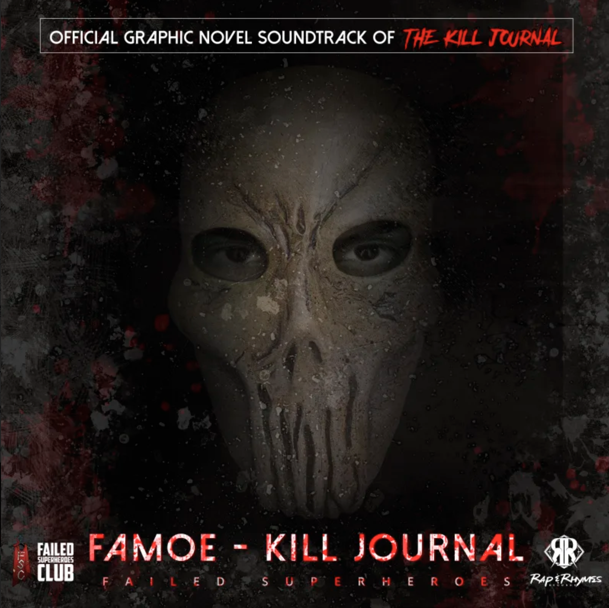 Famoe to Release Official Soundtrack for Hardcover Edition of 'KillJournal' in 2021