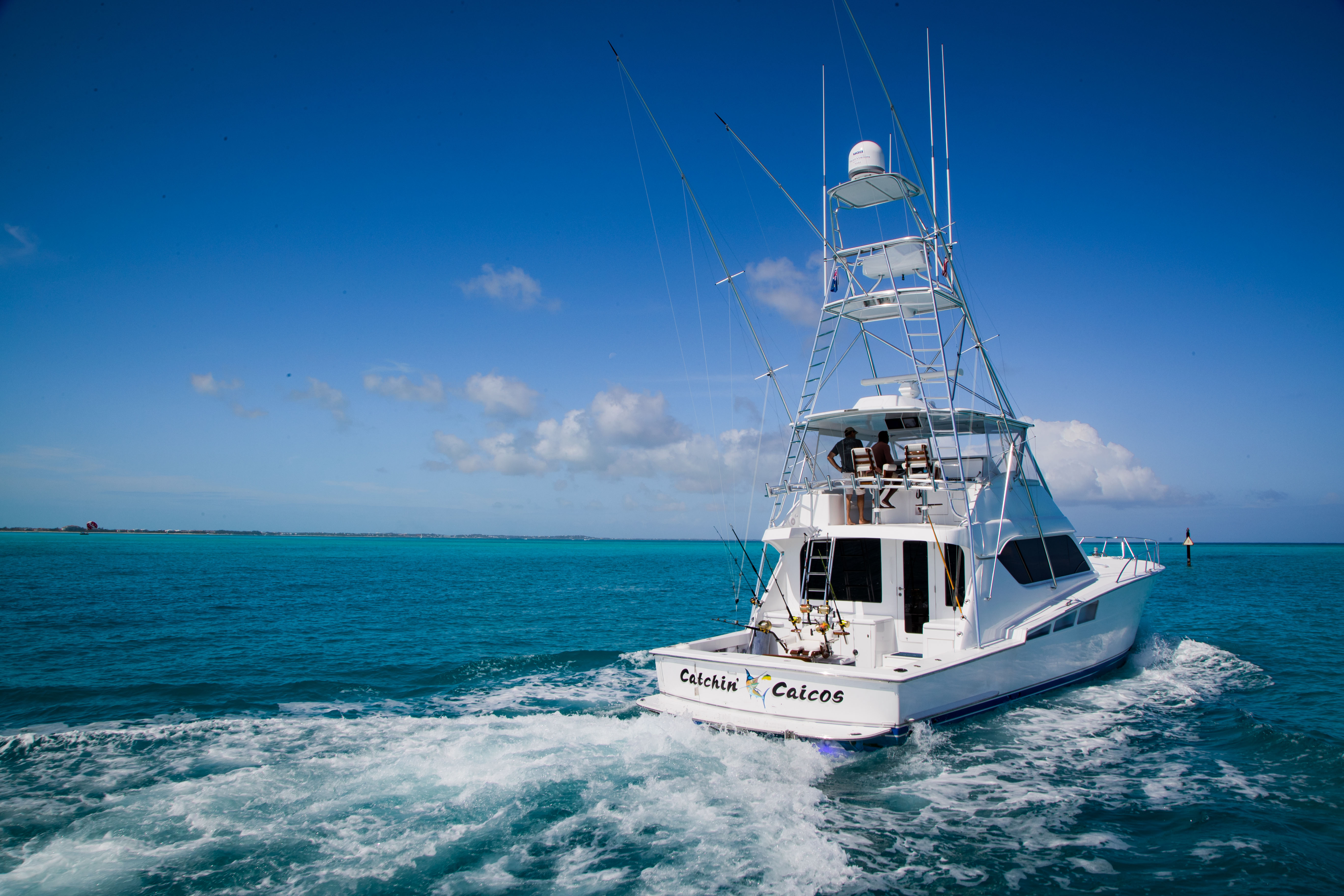 Catchin' Caicos Charters Deliver the Best Fishing Charters in the Caribbean Sea