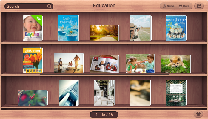 FlipHTML5's Virtual Bookshelf Provides the Ideal Solution for Managing Flipbooks