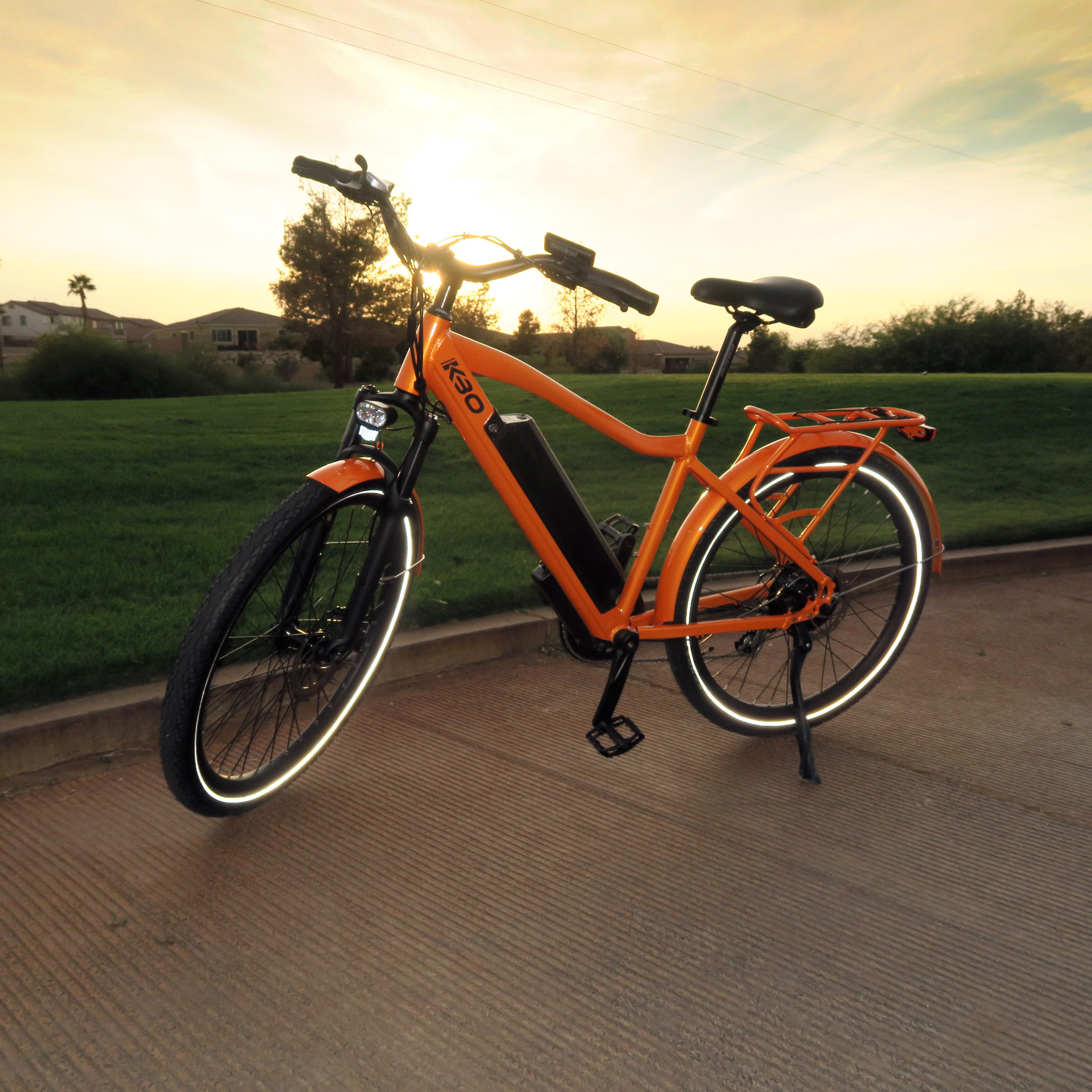 The KBO Bike: Cost Free-Commuting for Eco-Friendly and Sustainable Living