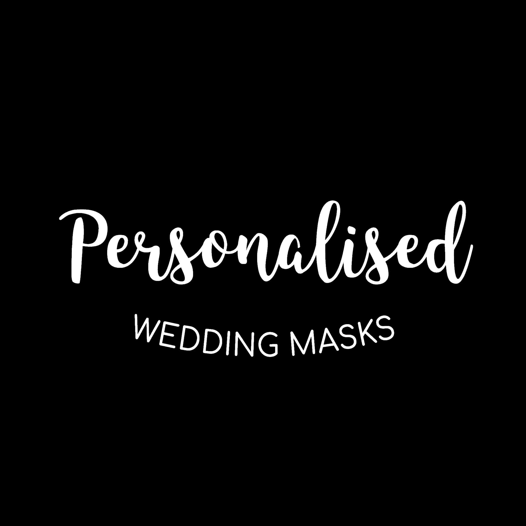 Personalisedweddingmasks.com create fun & unique customized face masks for weddings amidst a pandemic