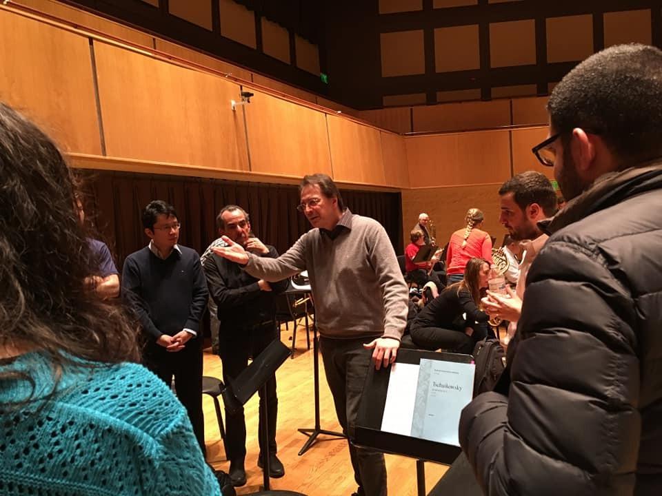 Orchestral Conducting Masterclass: The Maestro Ennio Nicotra