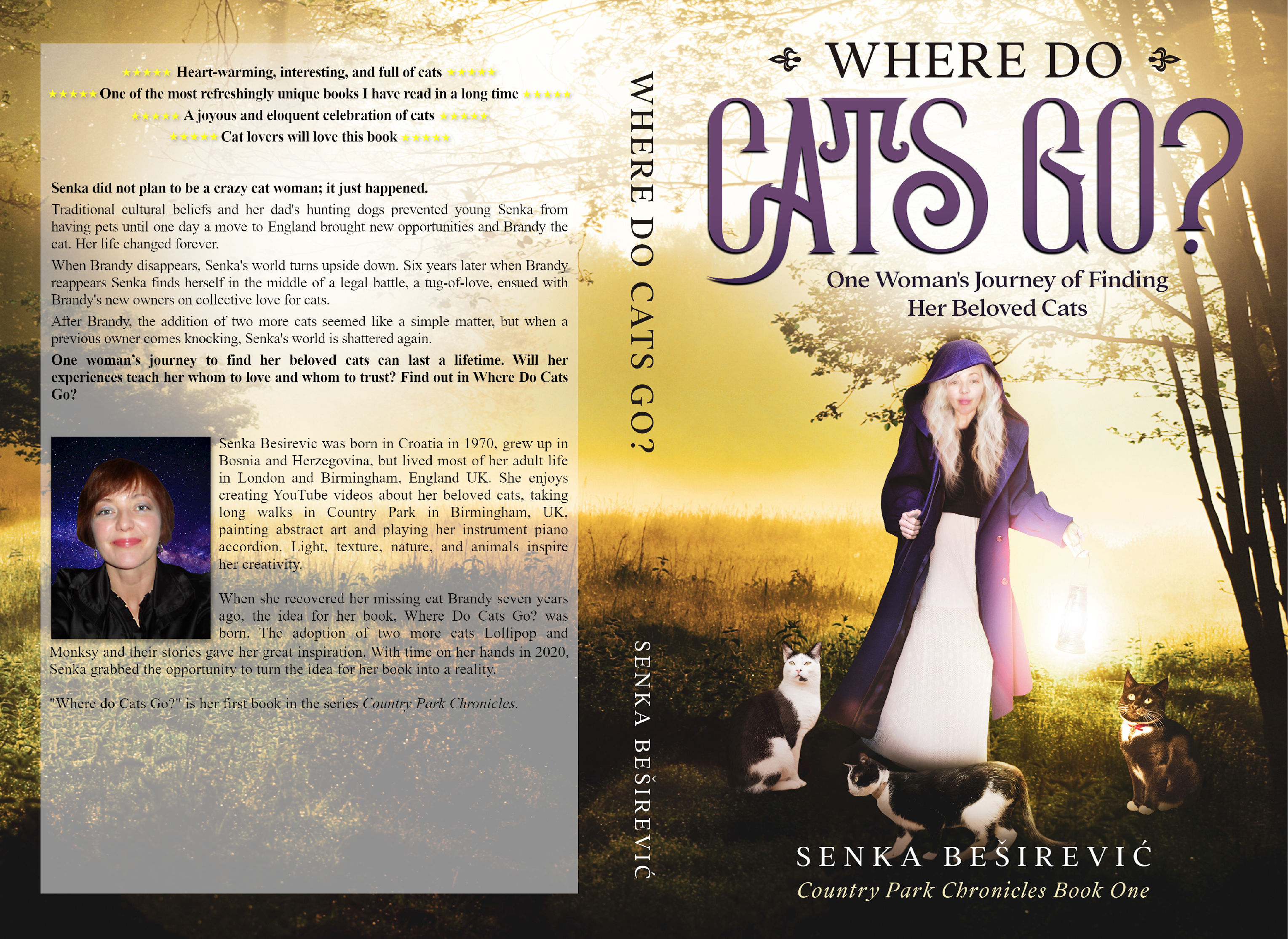 """Feline Love"" Inspires Senka Besirevic's debut book 'Where Do Cats Go?'"