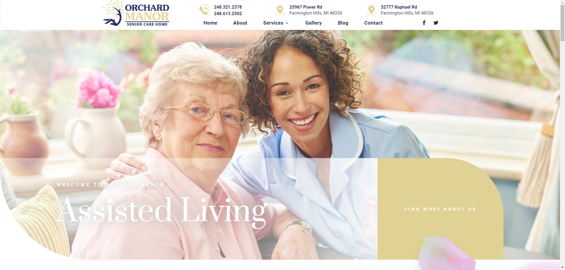 Orchard Manor Now Assigns 24-Hour Nurses to Senior Citizens In Their Adult Foster Home