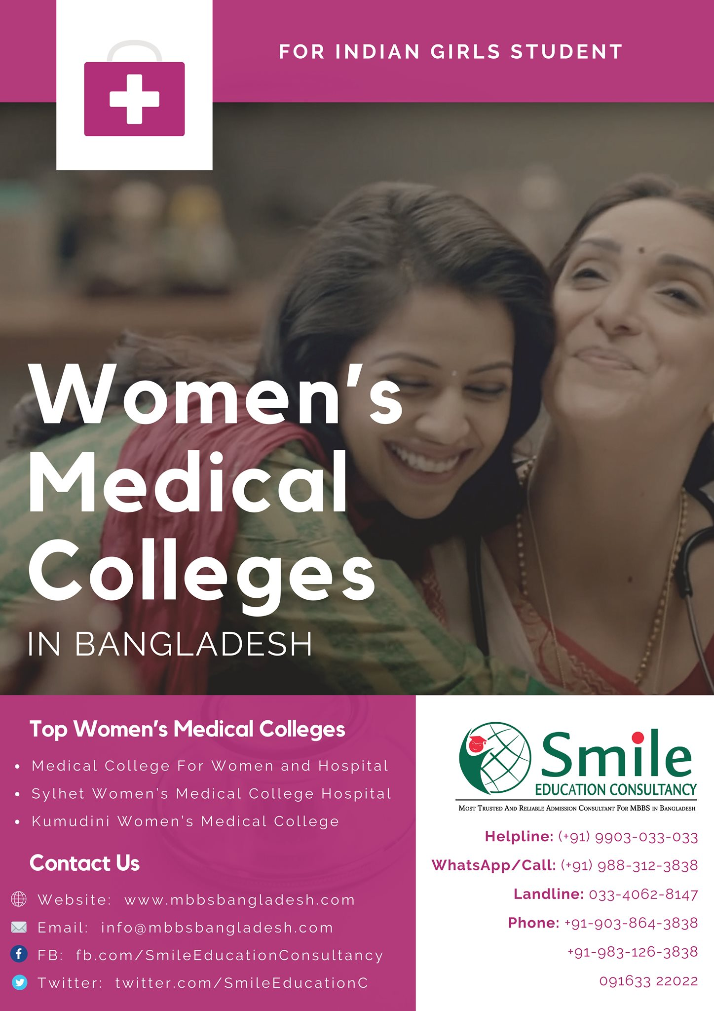 Smile Education Consultancy Becomes the Leading Option for Indians Who Wish to Apply for Medical Colleges in Bangladesh