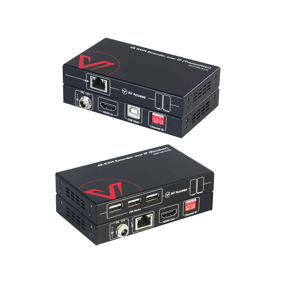AV Access Launches a Brand-New 4K KVM over IP Extender for Multi-User Control of Remote Systems