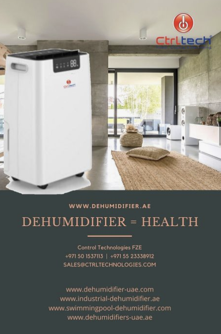 Control Technologies FZE, Cements Name as UAE's Top Supplier of Dehumidifiers