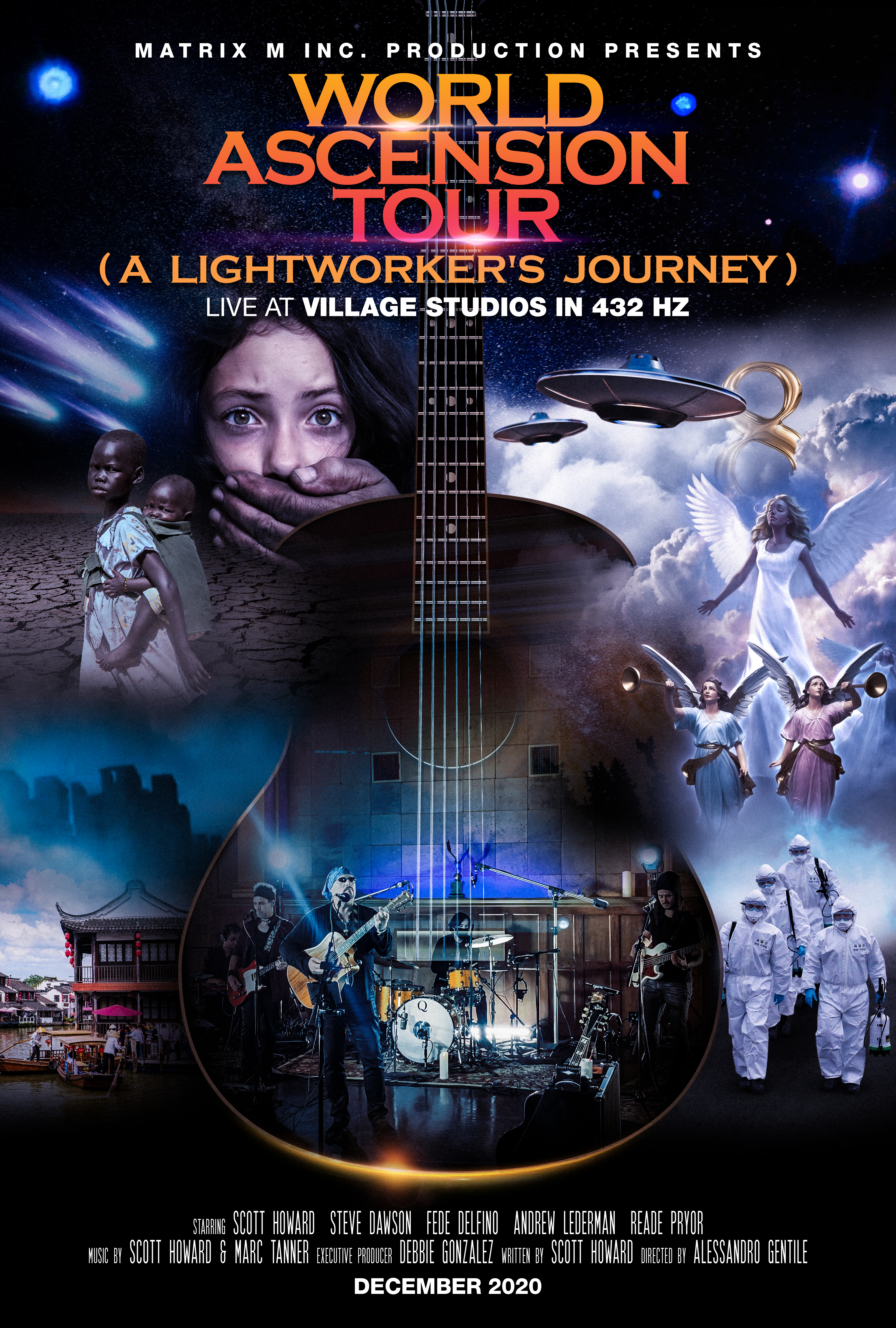 The First Concert Film of its Kind in 432 Hz by Scott Howard