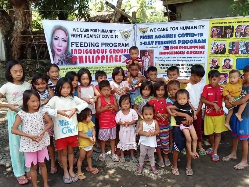 WCH Fight Against Covid-19 Global Feeding & Relief Distribution in the Philippines Lasted for 21 days