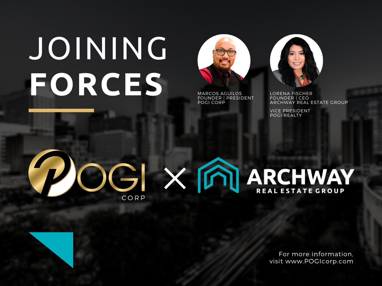 Pogi Corp Joins Forces With Archway Real Estate Group