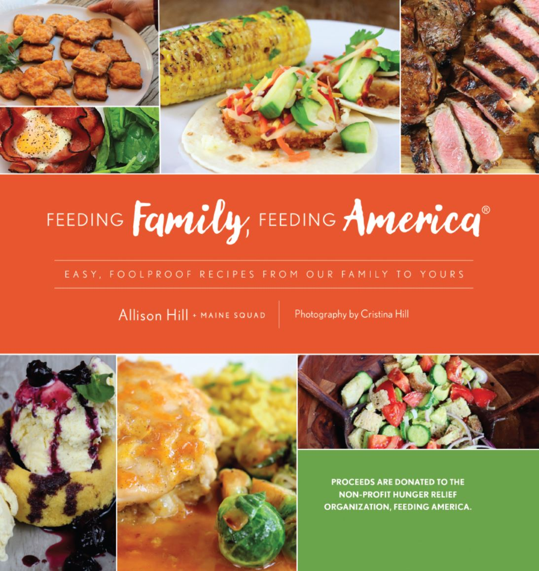 """New cookbook """"Feeding Family, Feeding America,"""" Created by Three Generations of Women, Offers Delicious, Easy-to-Make Recipes: 100% of Book Sales Benefit Feeding America"""