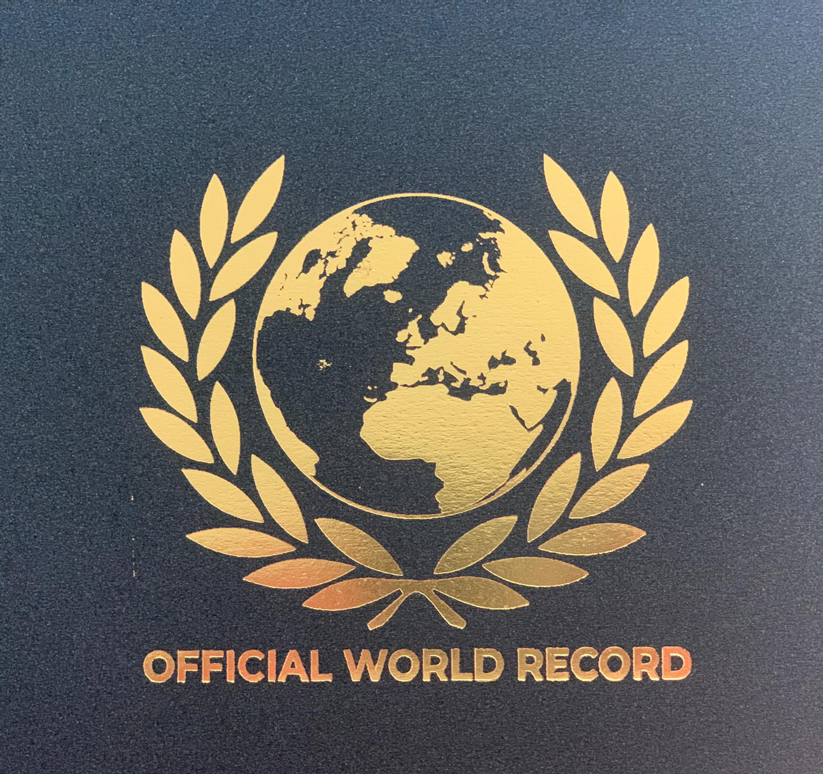 The Official World Record turns 10 years old and is clearly positioned as the record of the future, already being the most prestigious and valued among the aspirants to obtain that title worldwide.