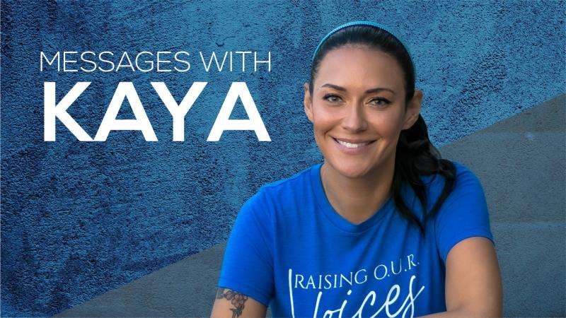 """Grammy Award Winning Singer Kaya Jones Launches New Show """"Messages With Kaya"""" on the Life Network For Women"""