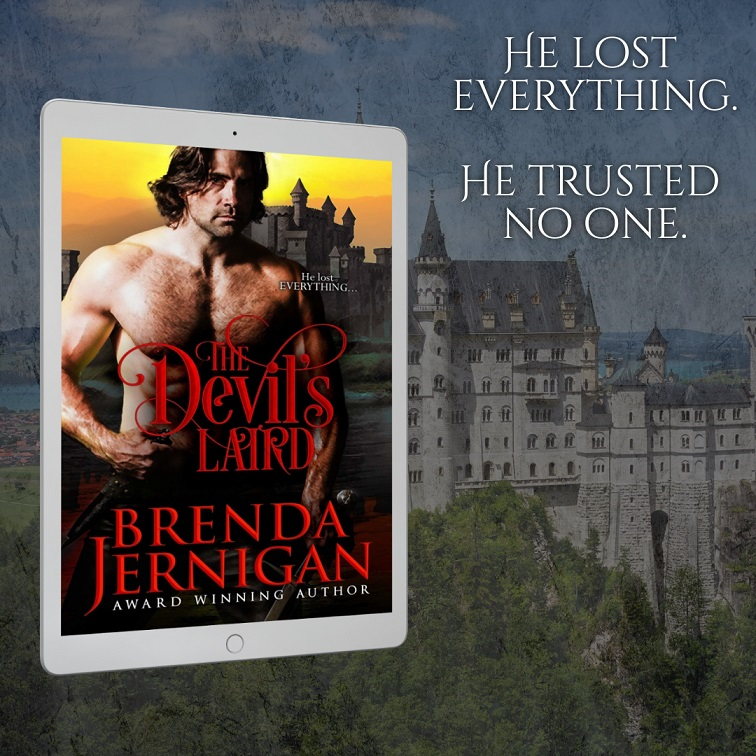 Best-Selling Author Brenda Jernigan Releases New Scottish Historical Romance - The Devil's Laird