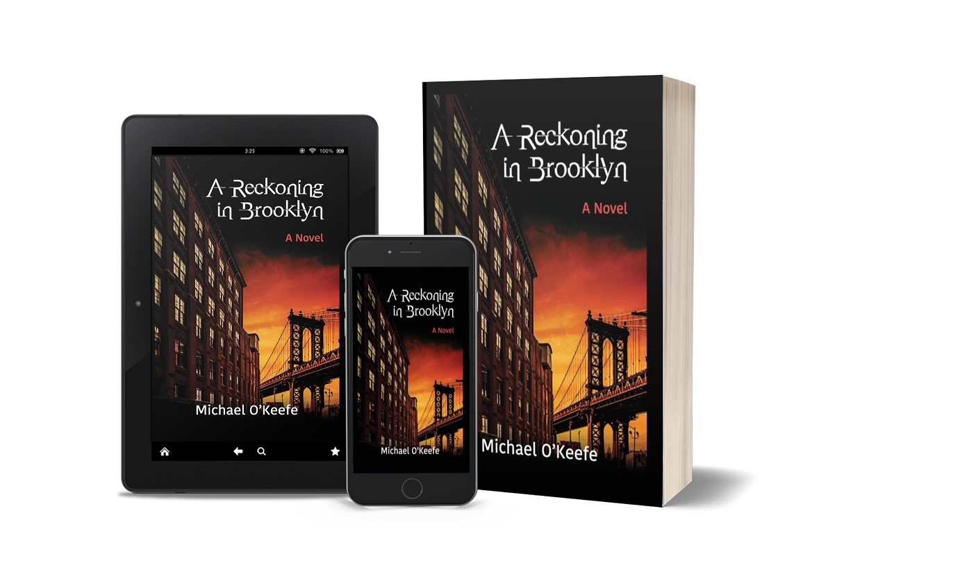 Retired NYPD Police Detective Michael O'Keefe Promotes His Crime Thriller - A Reckoning in Brooklyn