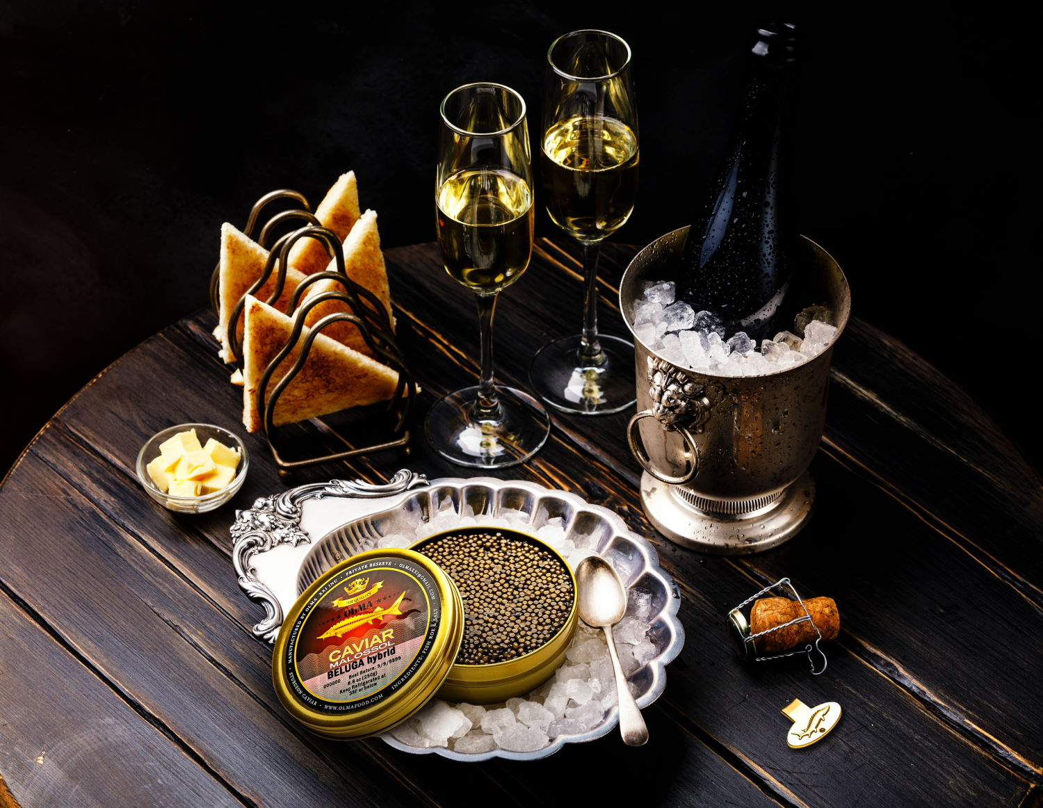 Leading caviar company, OLMA, launches updated website; announces Holiday discounts