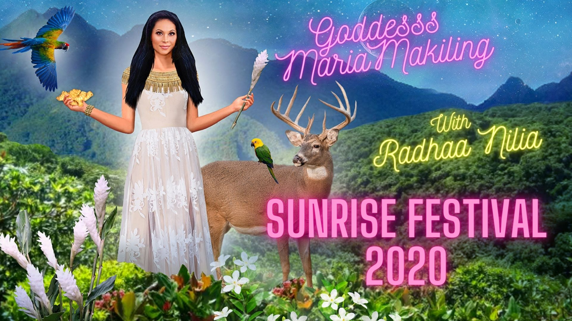 Actor Raymond Bagatsing and Radhaa Nilia Contribute to the Maharlikan Sunrise Festival amidst Covid-19 Lockdown