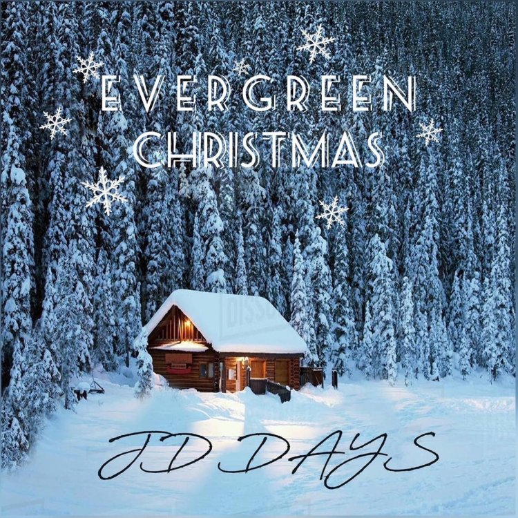 JD Days moves up the charts with Evergreen Christmas to number 2 on radio distribution charts for most downloads