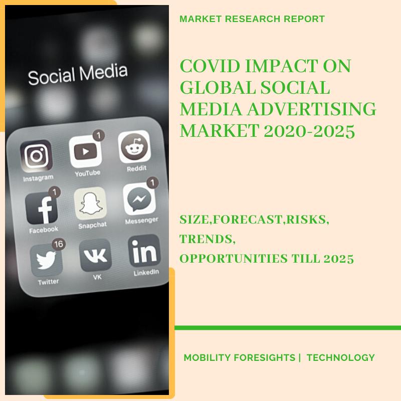 COVID Impact On Global Social Media Advertising Market 2020-2025