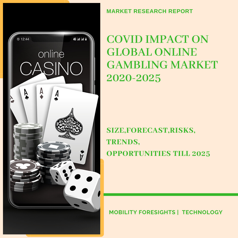 COVID Impact On Global Online Gambling Market 2020-2025