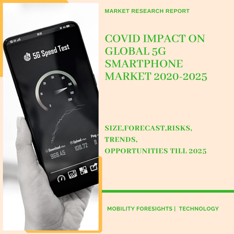 COVID Impact On Global 5G SmartPhone Market 2020-2025
