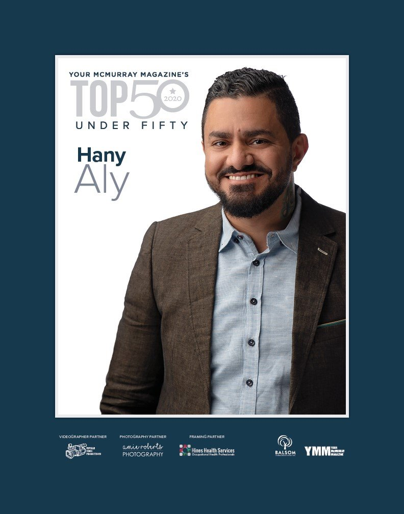Hany Aly of 4 Seasons Moving Named Among Your McMurray Magazine's Top 50 Under Fifty