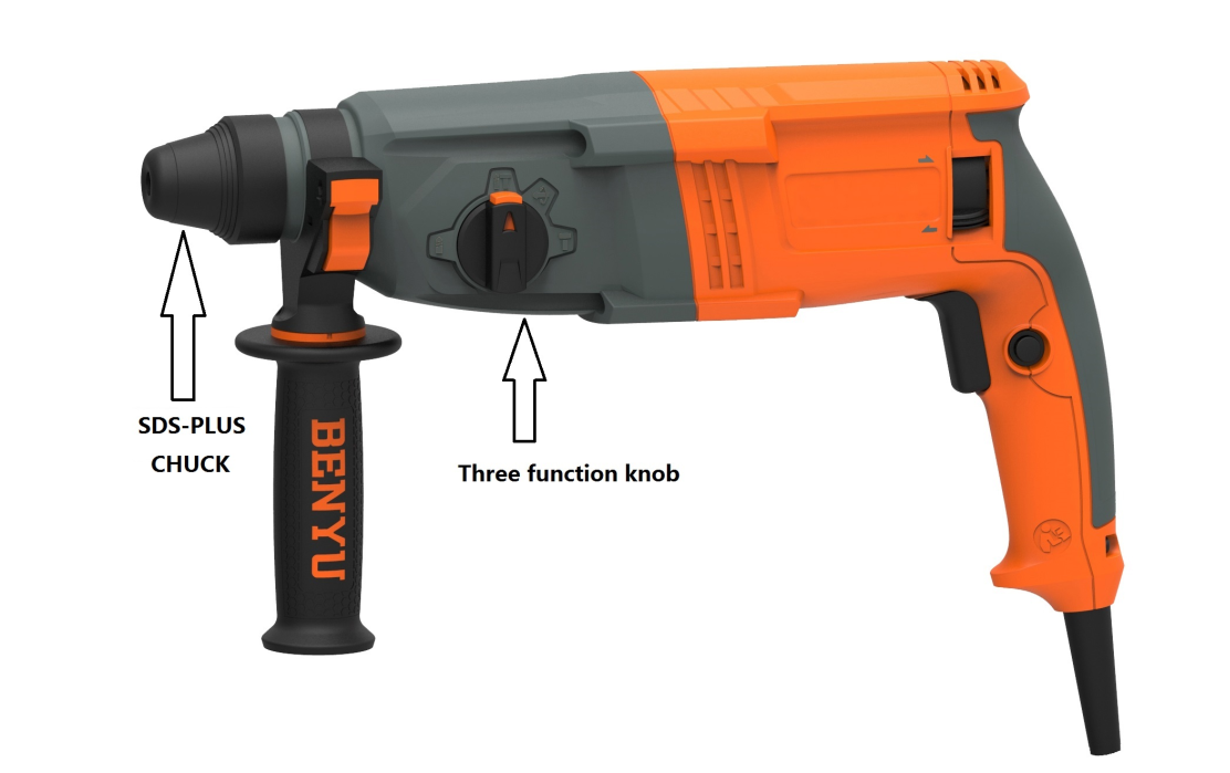 Difference Between Impact Drill And Rotary Hammer