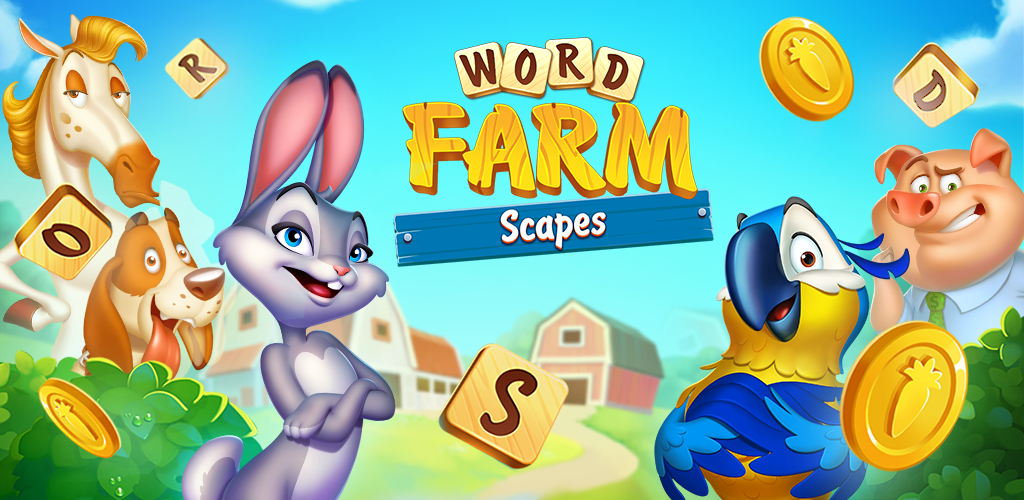 New Free Word Scrabble Puzzle Game Word Farm Scapes Gets Top Ratings