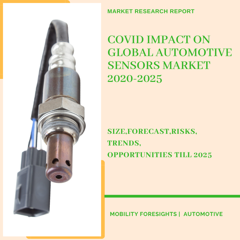 COVID Impact On Global Automotive Sensors Market 2020-2025