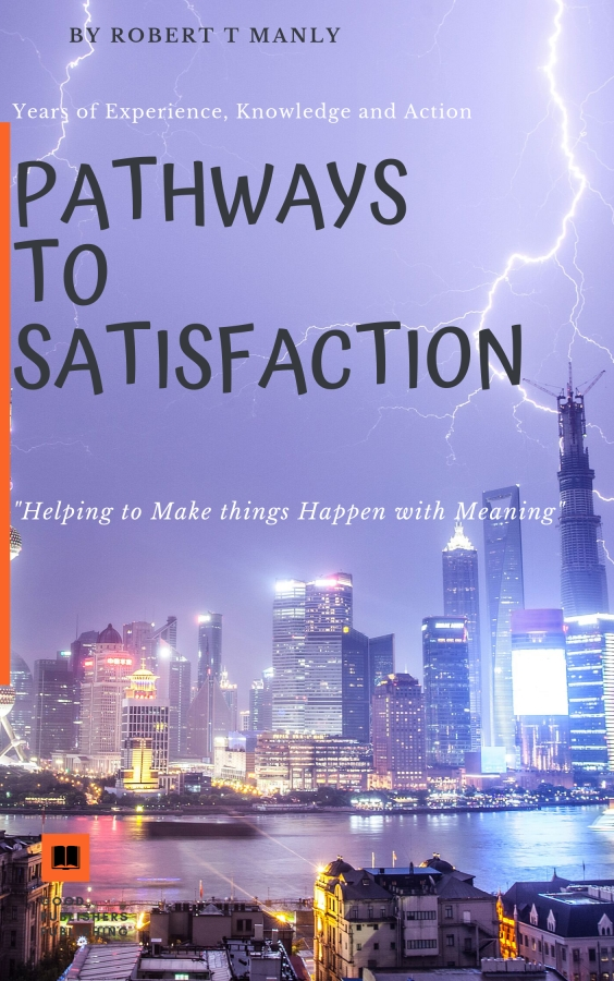 "Author and former Marine engineering Technician for the Royal Australian Navy, Robert T Manly launches a new book titled ""Pathways To Satisfaction"""