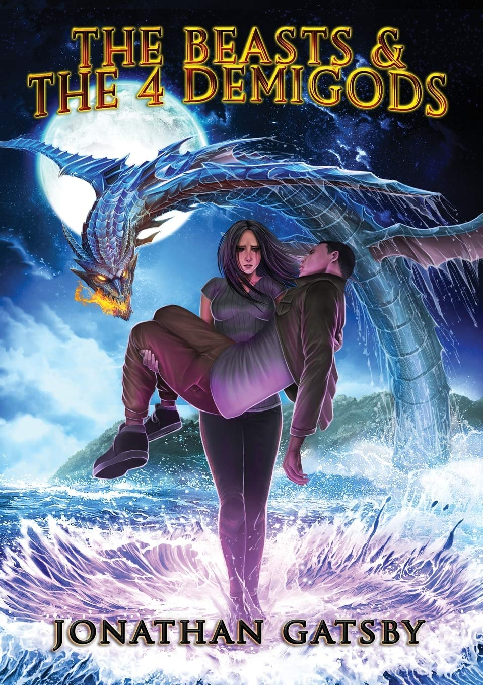 Jonathan Gatsby Releases New Epic Young Adult Fantasy Novel, The Beasts & the 4 Demigods
