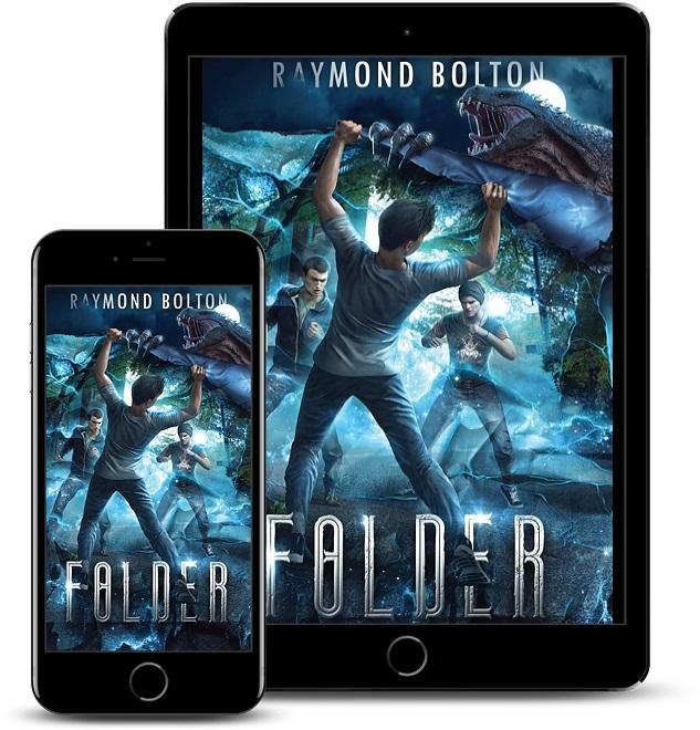 Raymond Bolton Releases New YA Sci-fi Fantasy - Folder