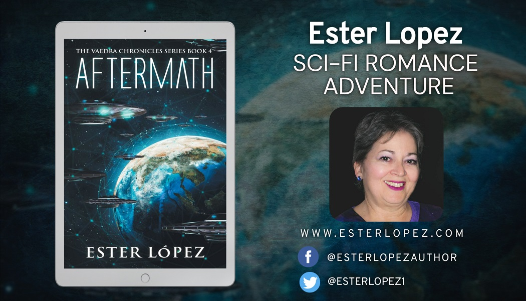 Ester Lopez Releases New Science Fiction Adventure Novel - Aftermath