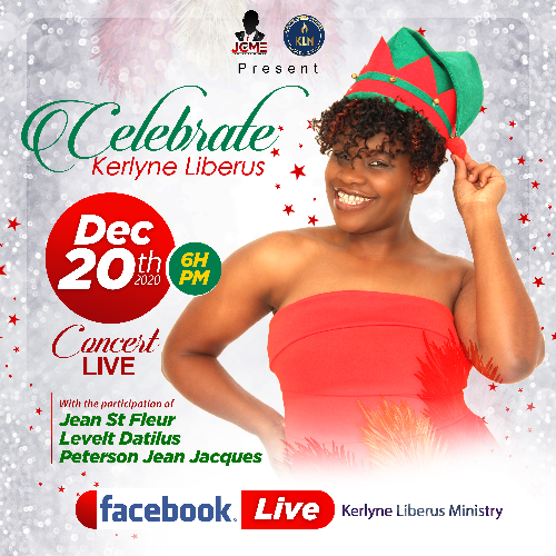 Kerlyne Liberus Celebrates Her Birthday with a Virtual Concert