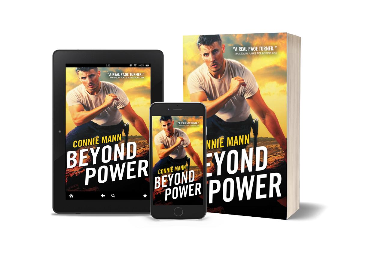 Author Connie Mann Releases New Romantic Suspense - Beyond Power